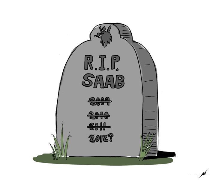 Saab's Tombstone