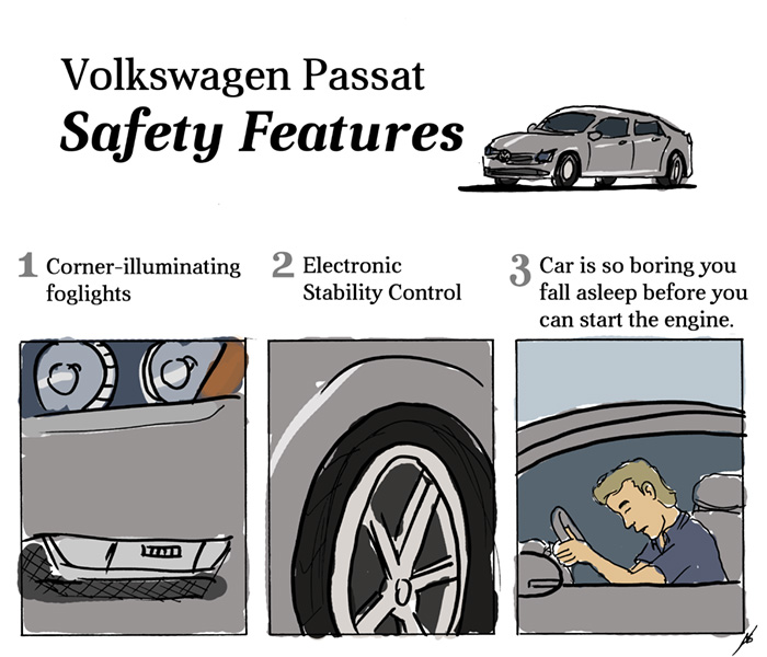 Volkswagen Passat Safety Features