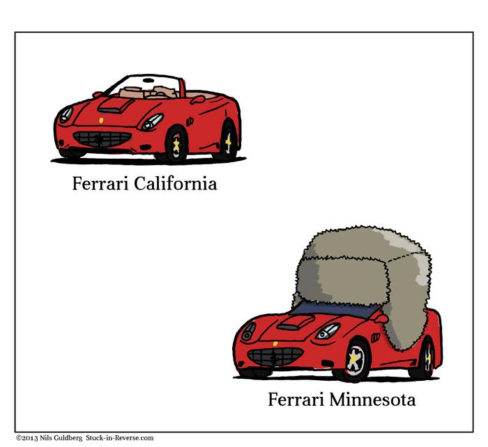 Ferrari California, Ferrari Minnesota