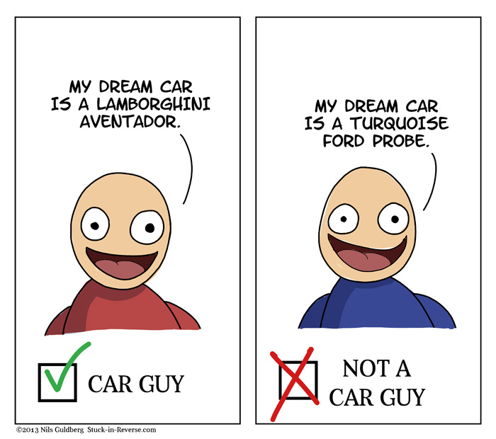 Car Guy Test