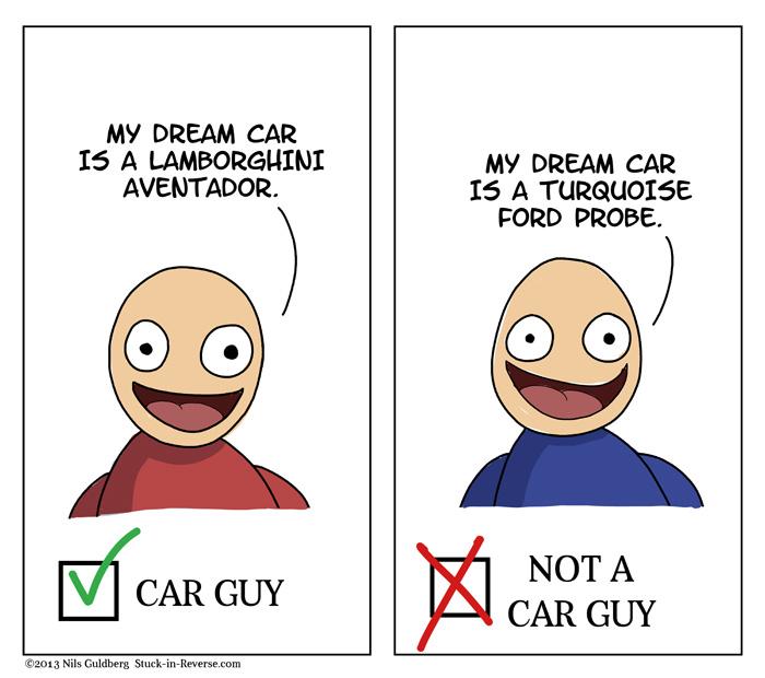 Car Guy Test