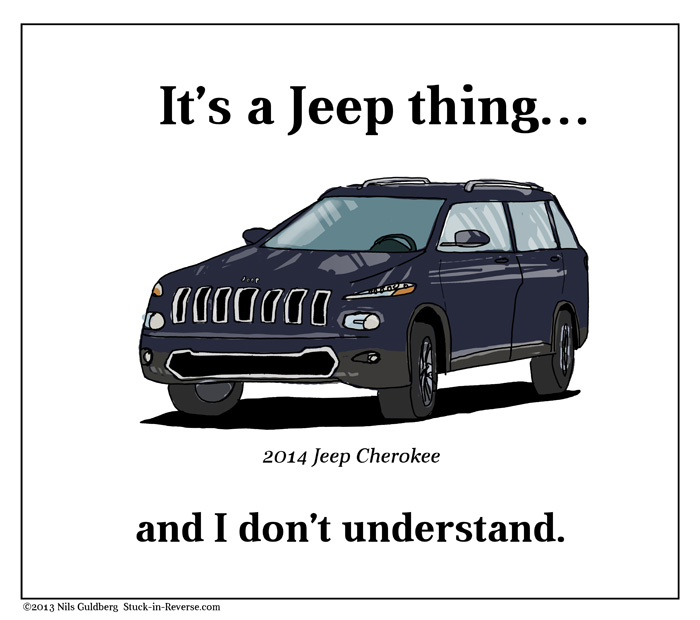 It's a Jeep thing and I don't understand