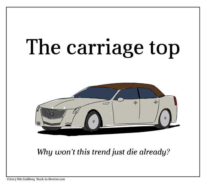 The carriage top - why won't this trend just die already?