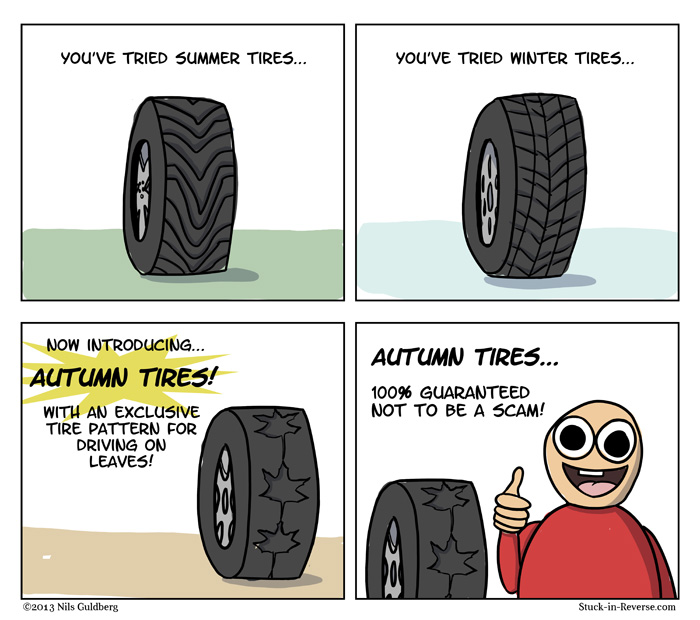 New Tire Technology - Autumn Tires