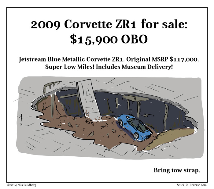 Deal of the Decade - 2009 Corvette ZR1 for sale: $15,900 OBO